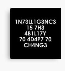 Lienzo Inteligencia