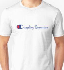 Champion // Crippling Depression // Idubbbz // Pyrocinical // Leafy Unisex T-Shirt
