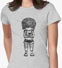 Smile Baby Photographer black and white T-Shirt