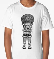 Smile Baby Photographer black and white Long T-Shirt