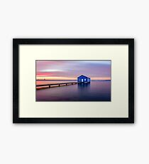 Swan River Sunrise Framed Print