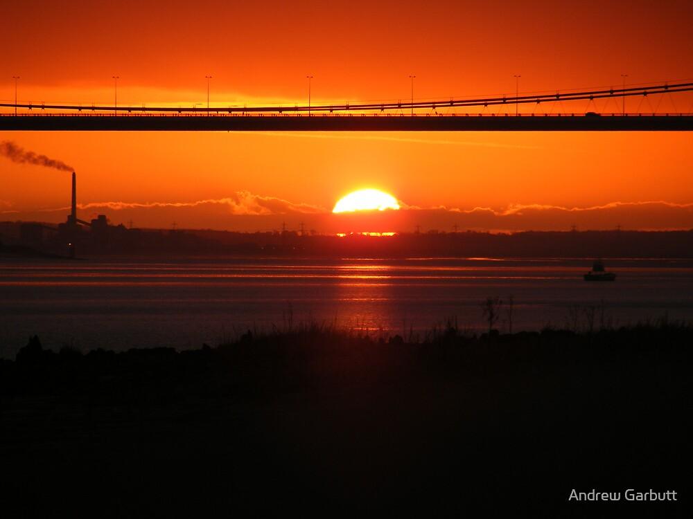 Sunset silouhettes by Andrew Garbutt