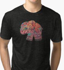 Vintage Elephant TShirt Tri-blend T-Shirt