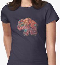 Vintage Elephant TShirt Women's Fitted T-Shirt
