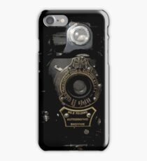 VINTAGE AUTOGRAPHIC BROWNIE FOLDING CAMERA iPhone Case/Skin