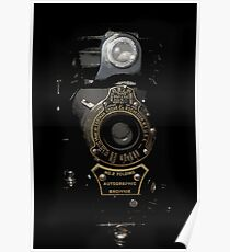 VINTAGE AUTOGRAPHIC BROWNIE FOLDING CAMERA Poster