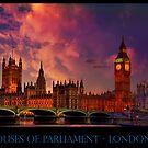 Houses of Parliament - London by LudaNayvelt