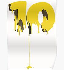 LUCKY TEN T SHIRT Poster