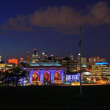 Kansas City Night by BackRoadsPhotog