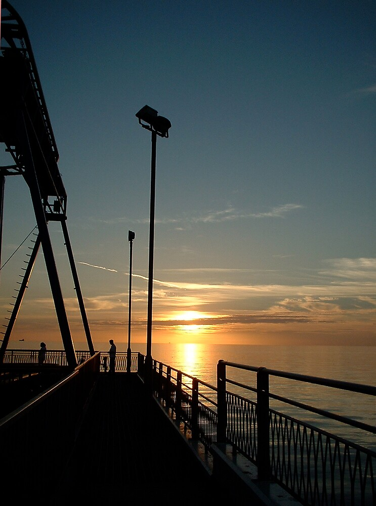 Sunset Blackpool by Jervaulx