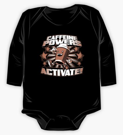 Caffeine Powers... Activate! Kids Clothes