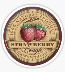 Strawberry Cough Sativa Sticker