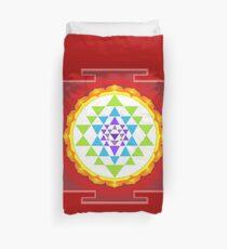 Sri Yantra Mandala for Meditation Duvet Cover