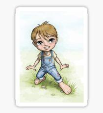 Little Samuel Sticker