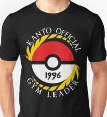 Pokemon Go Kanto Official Gym Leader Unisex T-Shirt