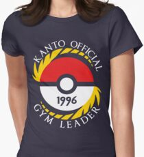 Pokemon Go Kanto Official Gym Leader Womens Fitted T-Shirt