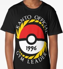 Pokemon Go Kanto Official Gym Leader Long T-Shirt