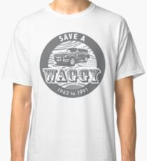 Save A Waggy Gray Classic T-Shirt