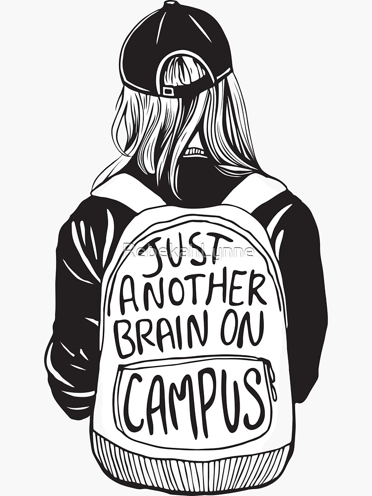 Just Another Brain on Campus by RebekahLynne