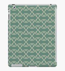 Green Vintage Pattern iPad Case/Skin