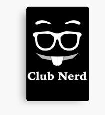 Club Nerd Canvas Print