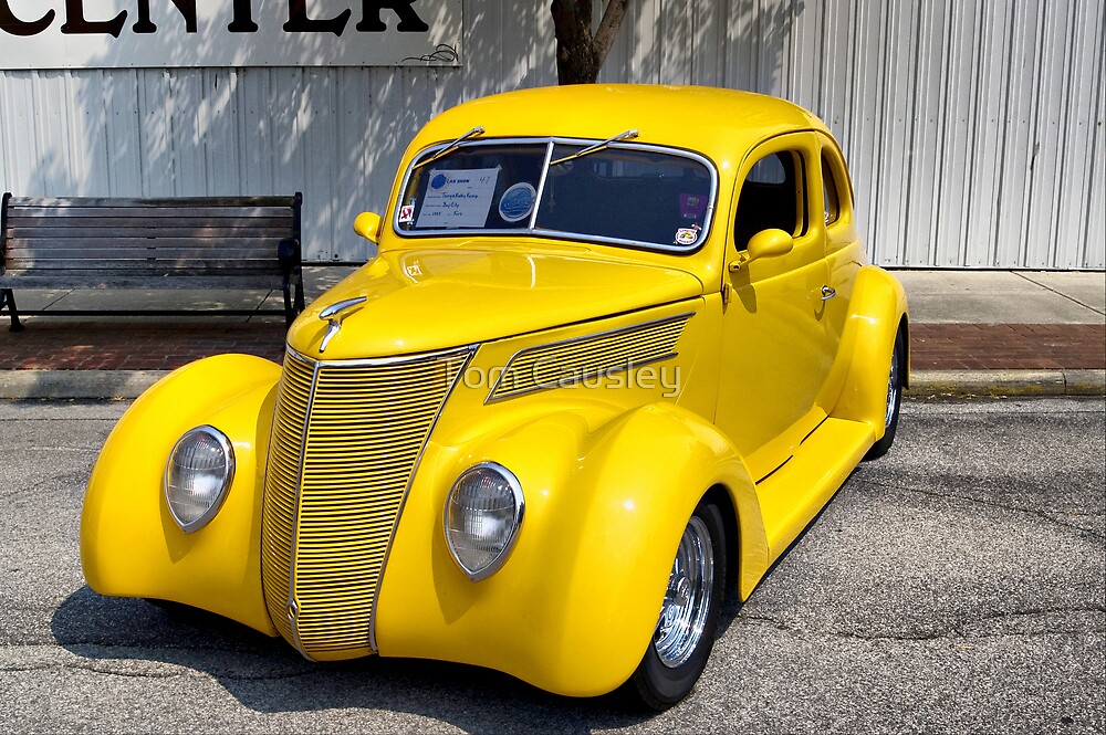 Bright Yellow Car by Tom Causley