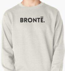 Brontë Minimalist Name Design Pullover