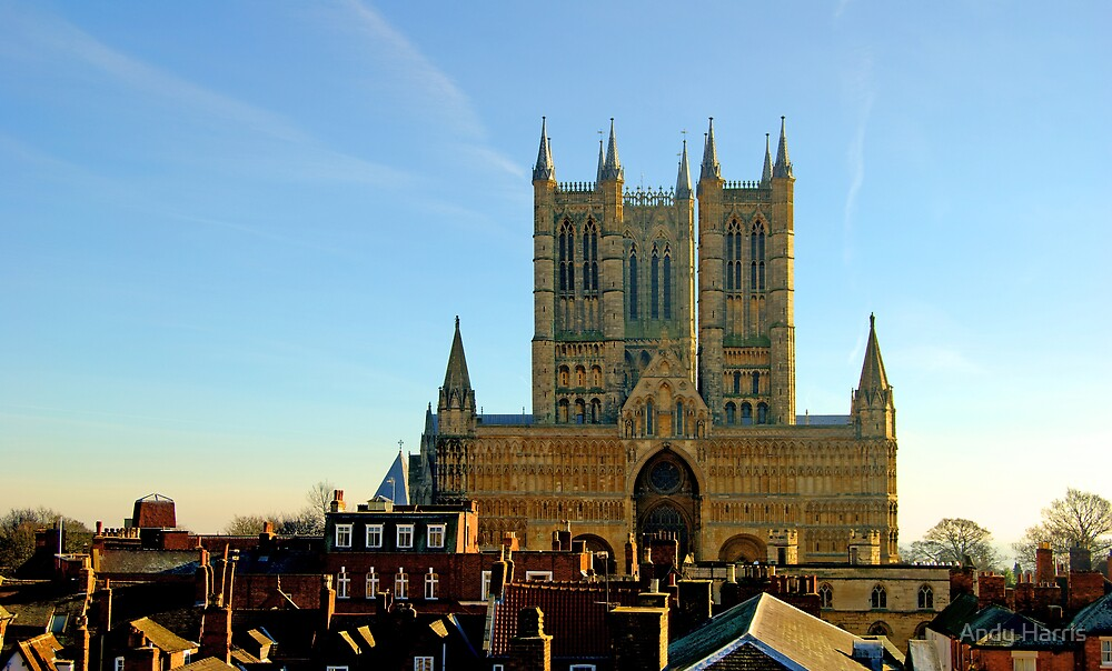 Lincoln Cathedral by Andy Harris