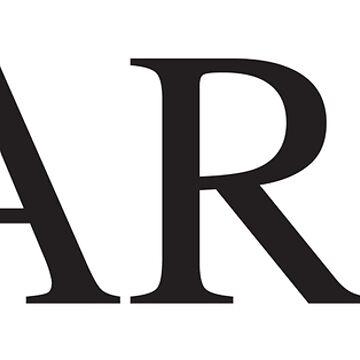DARN. (BLACK) by jarmandesign