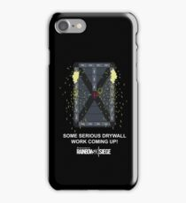 """R6 - Thermite """"Drywall Work"""" (SFW Version) iPhone Case/Skin"""