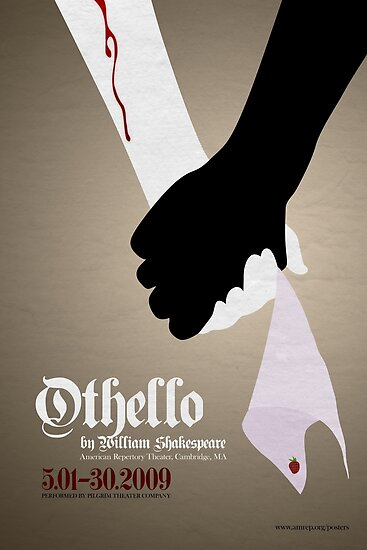 """""""Othello by William Shakespeare"""" Poster by mikemai2awesome ..."""