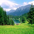 Lautersee Bavarian Alps by kevin smith  skystudiohawaii