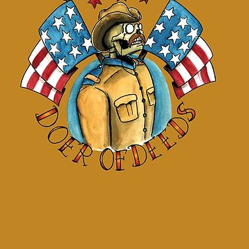 Teddy Roosevelt Tattoo Flash by ColeC