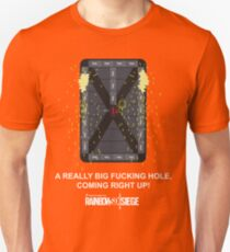 """R6 - Thermite """"Drywall Work"""" (NSFW Version) Unisex T-Shirt"""