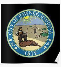 City Of Pawnee Poster