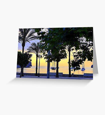 Remembering Summer Evenings In Majorca Greeting Card