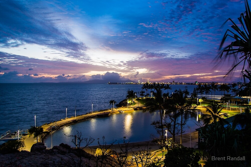 Townsville Rockpool by Brent Randall