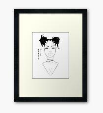 Wicca, Please. Framed Print