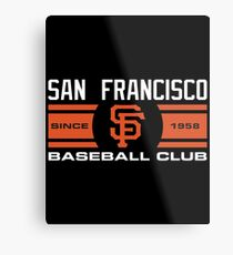 San Francisco Giants Baseball Club Metal Print