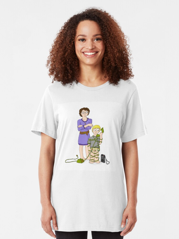 Alternate view of The Weekend Cash Call - The Phone Call Slim Fit T-Shirt