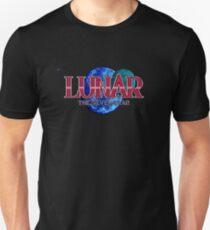 Lunar The Silver Star (Sega CD) Title Screen Slim Fit T-Shirt
