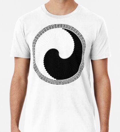 I Ching 004 - Work in Progress - White Background Premium T-Shirt