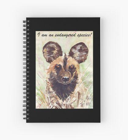 I am an endangered species! Spiral Notebook