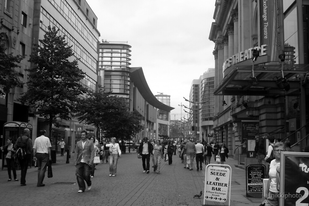 Manchester Shoppers by nikkiphoto