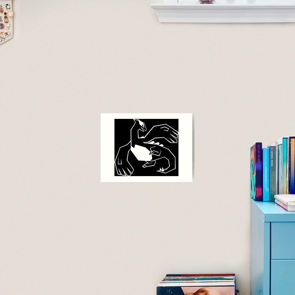LARGE - w Art Print