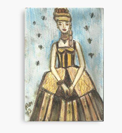 Princess HoneyBee Canvas Print