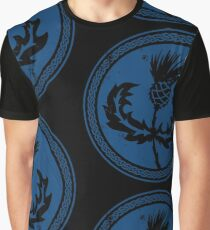 Thistle & Braid - Blue Graphic T-Shirt