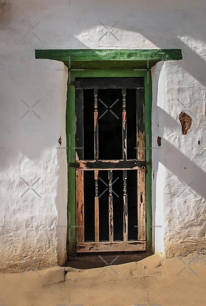 Old Hacienda Door by Heather Friedman