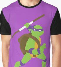 Donatello Blocky Graphic T-Shirt