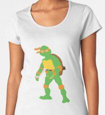 Michelangelo Blocky Women's Premium T-Shirt